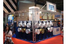 Stand motor show Birmingham & Winrace A 7 1/2'' x 16''
